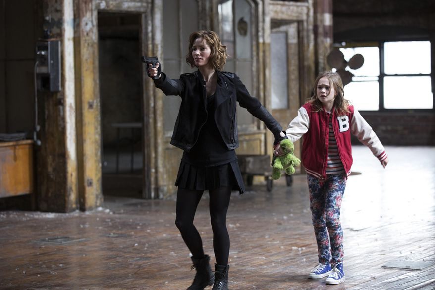 """This photo released by NBC shows Sienna Guillory, left, as Moore, and Johnny Sequoyah as Bo, in the pilot of the new NBC television series, """"Believe."""" Alfonso Cuaron and J.J. Abrams (""""Lost,"""" the """"Star Trek"""" movies) are executive producers of """"Believe,"""" a drama about a child whose supernatural powers put her and the world at risk. (AP Photo/NBC, Eric Liebowitz)"""