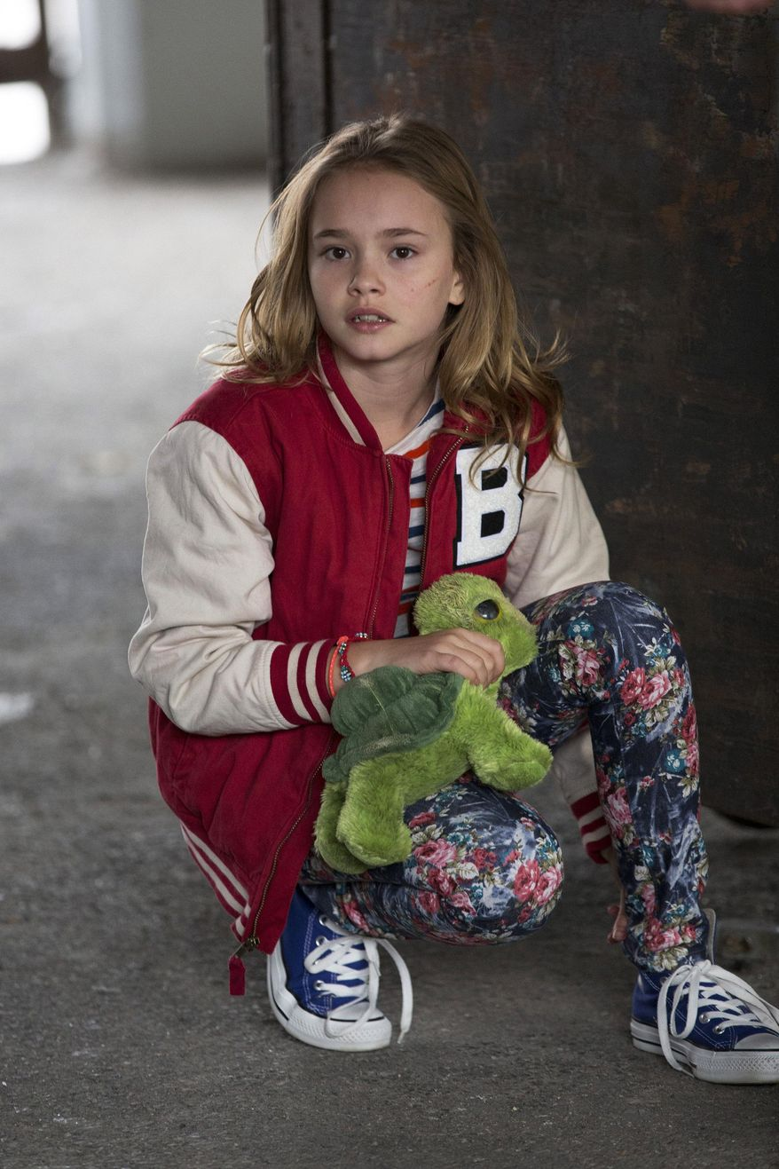 """This photo released by NBC shows, Johnny Sequoyah as Bo, in the pilot of the new NBC television series, """"Believe."""" Alfonso Cuaron and J.J. Abrams (""""Lost,"""" the """"Star Trek"""" movies) are executive producers of """"Believe,"""" a drama about a child whose supernatural powers put her and the world at risk. (AP Photo/NBC, Eric Liebowitz)"""