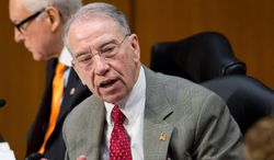 """The problems with [optional practical training program] are extensive and serious. The report not only calls into question the department's oversight of the program, but also whether such lack of oversight is a serious national security risk,"" Sen. Charles E. Grassley, the Iowa Republican. (Associated Press)"
