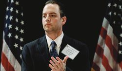 """""""The Clintons have a history of trying to keep their past secret from the American people. Americans deserve to know who was responsible for keeping on lockdown documents that should have been released over a year ago,"""" said RNC chairman Reince Priebus. (Associated Press)"""