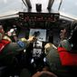 Indonesian navy pilots are part of an effort involving 40 ships and 34 aircraft from nine countries searching for a Malaysian Airlines Boeing 777. In the information age, the thought that a jetliner could simply disappear is staggering. (Associated Press)