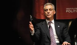 Some political strategists say Chicago Mayor Rahm Emanuel is seriously being groomed as a White House contender in 2016. (ASSOCIATED PRESS)
