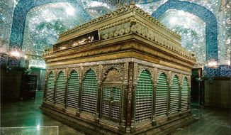 Muslims believe that this is where Noah is buried today, located in what is now the Imam Ali Mosque in Najaf, Iraq. (WikiMedia Commons)