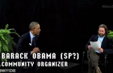 President Obama appears on 'Between Two Ferns' with comedic actor Zach Galifianakis.