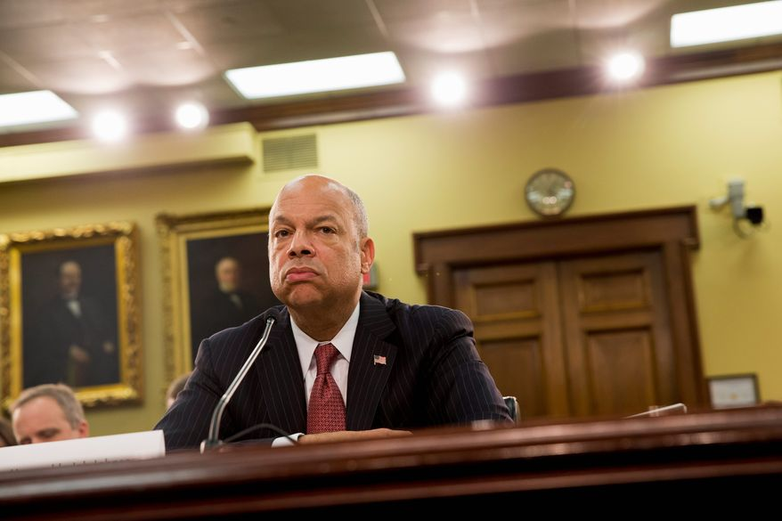 Homeland Security Secretary Jeh Johnson, testifying on the fiscal year 2015 budget Tuesday, said that instead of random deportations, the administration is prioritizing on illegal immigrants they think deserve deportation. (Associated Press)