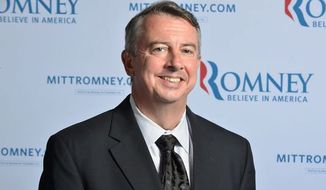 """Former RNC chairman and U.S. Senate hopeful Ed Gillespie counsels the GOP to push a positive agenda and straightforward talk. """"We can turn things around with the right ideas,"""" Mr. Gillespie told a recent Ripon Society forum. (Associated Press)"""
