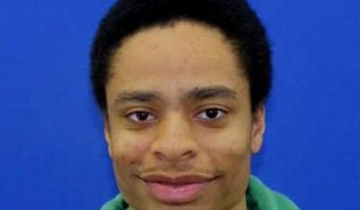 FILE - This file photo released by the Howard County Police shows Darion Marcus Aguilar, 19, of College Park, Md., who killed two people before killing himself in the Jan. 25, 2014 shooting at the Mall in Columbia, Md. Aguilar wrote in general terms about killing people in his journal and said that he was ready to die, police said Wednesday, Jan. 29, 2014, in releasing new details about writings the shooter left behind. (AP Photo/ Howard County Police, File)