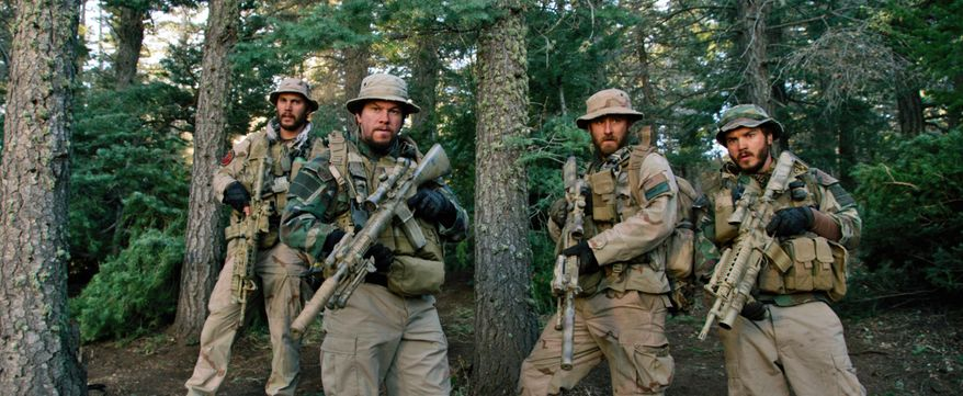 The M4 Carbine, a SEAL team staple was seen in the movie Lone Survivor.