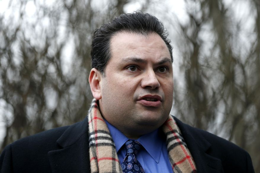 Angelo Sarno, attorney for the parents of Rachel Canning, the New Jersey student who sued her parents to support her, talks to the press about Canning's return to her home, Wednesday, March 12, 2014, in Roseland, N.J. Sarno said the 18-year-old's return is not contingent on any financial or other considerations. A judge last week denied the teen's request for child support and to have her parents pay her remaining high school tuition. But the judge scheduled an April court date to consider the over-arching question of whether the Cannings are obligated to financially support their adult daughter. Canning had left her parents' house on Oct. 30, two days before she turned 18 after a tumultuous stretch during which her parents separated and reconciled and the teen began getting into uncharacteristic trouble at school. (AP Photo/Julio Cortez)