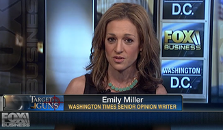 Emily Miller on Fox Business. March 13, 2014