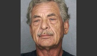 In this photo provided by the Broward County, Fla., Sheriff's Office is James Robert Jones, 59. Authorities say Jones, who escaped federal custody more than three decades ago, was arrested Thursday, March 13, 2014, when he showed up for work in Pompano Beach, Fla. He had been listed as one of the U.S. Army's 15 Most Wanted for escaping from a federal prison in Fort Leavenworth, Kan., in 1977. (AP Photo/Broward County Sheriff's Office)