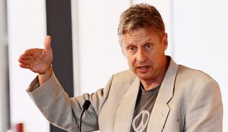 Gary Johnson, the Libertarian presidential hopeful, heads to Twitter on Tuesday for a Tweet Chat at 9 p.m. ET, he says, for his 122,000 followers and anyone else. (The Washington Times)