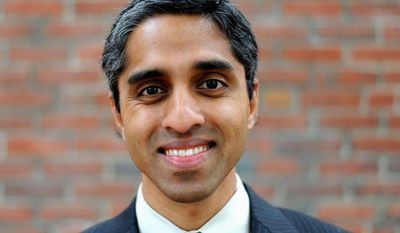 ** FILE ** Dr. Vivek Murthy, President Obama's surgeon general nominee. (AP Photo/courtesy of Brigham and Women's Hospital)