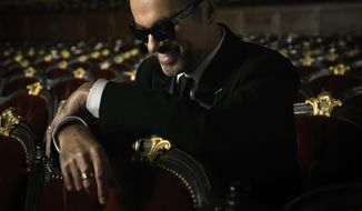 """This CD cover image released by Island Records shows """"Symphonica,"""" the latest release by George Michael. (AP Photo/Island Records)"""