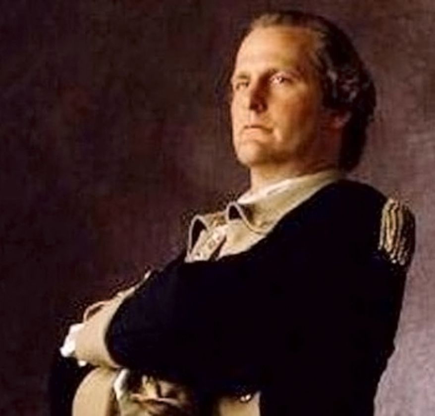 Jeff Daniels portrayed George Washington in AE's The Crossing.