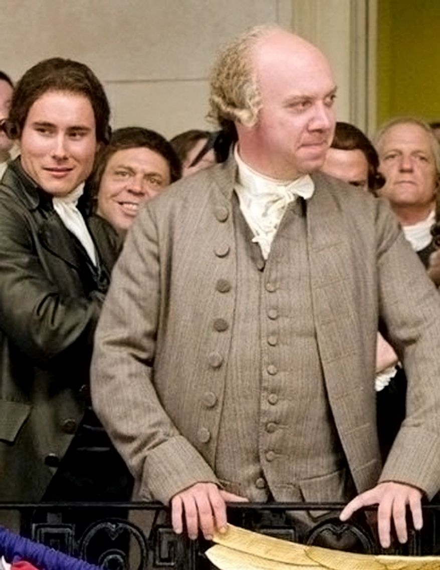 In 2008 Paul Giamatti played John Adams.