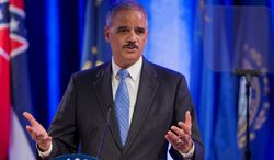 Attorney General Eric Holder unknowingly used incorrect data in October 2012 when touting the Justice Department's successes in fighting mortgage fraud. (Associated press)