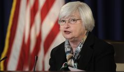 What Fed Says: Federal Reserve Chair Janet Yellen announces that the outlook for growth and jobs is the same as it was late last year. Story, A5. (Associated Press)