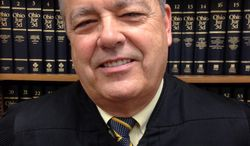 This undated photo provided by the Montgomery County Common Pleas Court shows Judge Gregory F. Singer. Singer is launching a drug court for women to address larger issues that are bringing more female defendants into the justice system. Singer proposed the idea after years of seeing female victims of abuse and sex trafficking return to his courtroom as defendants often addicted to drugs. (AP Photo/Montgomery County Common Pleas Court)