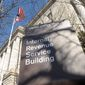 ** FILE ** In this Friday, March 22, 2013, file photo, the exterior of the Internal Revenue Service building in Washington, is shown. (AP Photo/Susan Walsh, File)