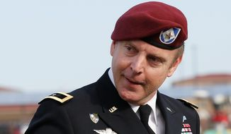 Brig. Gen. Jeffrey Sinclair, who admitted to inappropriate relationships with three subordinates, avoided jail in one of the military's most closely-watched court-martials. (Associated Press)