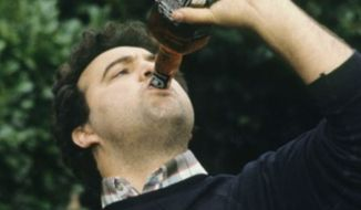 "The late actor John Belushi ini the iconic frat-themed ""Animal House."""