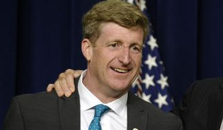 This June 3, 2013, file photo shows former Rhode Island Rep. Patrick Kennedy at the National Conference on Mental Health, in Washington. (AP Photo/Susan Walsh, File)