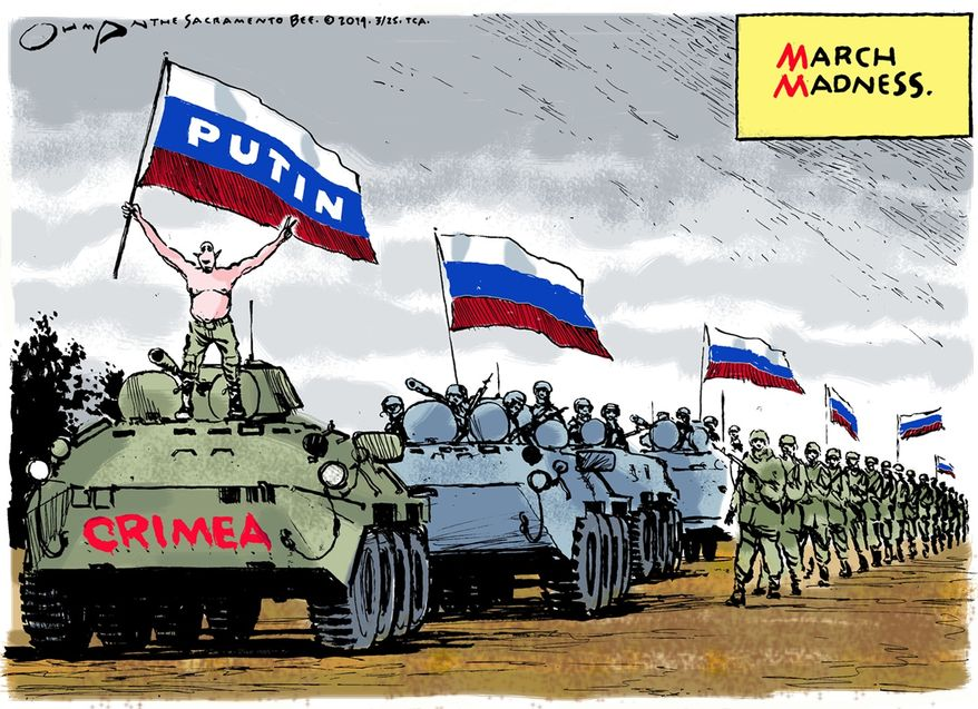 Illustration by Jack Ohman of the Tribune Media Services)