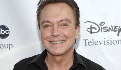 "** FILE ** This Aug. 8, 2009, file photo shows actor-singer David Cassidy, best known for his role as Keith Partridge on ""The Partridge Family,"" arrives at the ABC Disney Summer press tour party in Pasadena, Calif. (AP Photo/Dan Steinberg, File)"