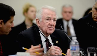 "Edwin Meese, a head of a commission investigating FBI counterterrorism efforts, says the panel will examine revelations about a human asset in direct contact with Osama bin Laden in the early 1990s. One of the panel's mandates, he said, is to dig into ""what evidence wasn't known to the 9/11 Commission."" (Andrew Harnik/The Washington Times)"