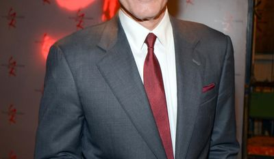 """Peter Bergman poses for a photo at """"The Young and the Restless"""" 41st Anniversary, on Tuesday, March 25, 2014, in Los Angeles. (Photo by Tonya Wise/Invision/AP)"""