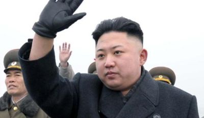 **FILE** A 35-year-old Hong Kong-born Australian musician, Howard, has his haircut to imitate North Korean leader Kim Jong Un in Hong Kong on Nov. 27, 2013. Howard claimed to be the world's first professional Kim Jong-un impersonator. (Associated Press)