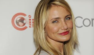 Actress Cameron Diaz has said she never felt drawn to motherhood.  (Photo by Chris Pizzello/Invision/AP)