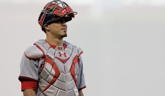 When the Nationals acquired catcher Wilson Ramos from the Twins in 2010, they envisioned him one day becoming a crucial part of their lineup. That time is now. (associated press photographs)