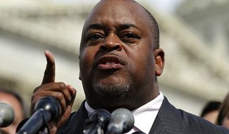 Niger Innis, national spokesman for the Congress of Racial Equality. (Associated Press)