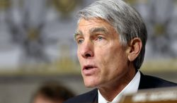 **FILE** Sen. Mark Udall, Colorado Democrat, speaks on Capitol Hill in Washington on Jan. 31, 2013. (Associated Press)