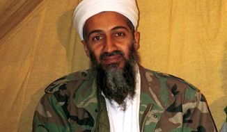 This undated file photo shows al Qaeda leader Osama bin Laden in Afghanistan. (AP Photo, File)