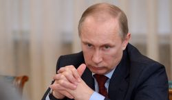 Russian President Vladimir Putin is already adjusting the subsidized gas prices sold to Ukraine to market levels, one analyst said. (Associated Press)