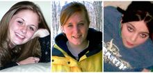 This combination of undated family photos shows, from left, Amber Marie Rose, Natasha Weigel, and Amy Rademaker. All three were killed in deadly car crashes involving GM's Cobalt during 2005-2006.  The complaint tally for the top-selling small cars in the 2005-2007 model years was: Corolla, 228; Cobalt, 164; Honda Civic, 60; Ford Focus, 25; and the Mazda 3, 19. (AP Photo)