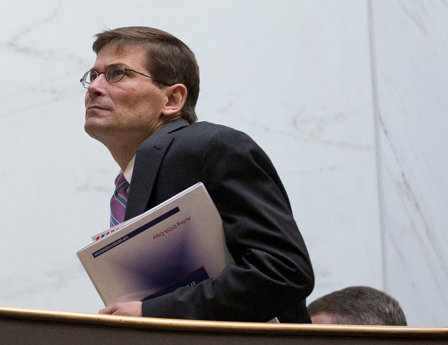 Former Deputy CIA Director Michael Morell is slated to testify on Wednesday on a series of secure video teleconferences during the days immediately following the Sept. 11, 2012 Benghazi attacks. (Associated Press)