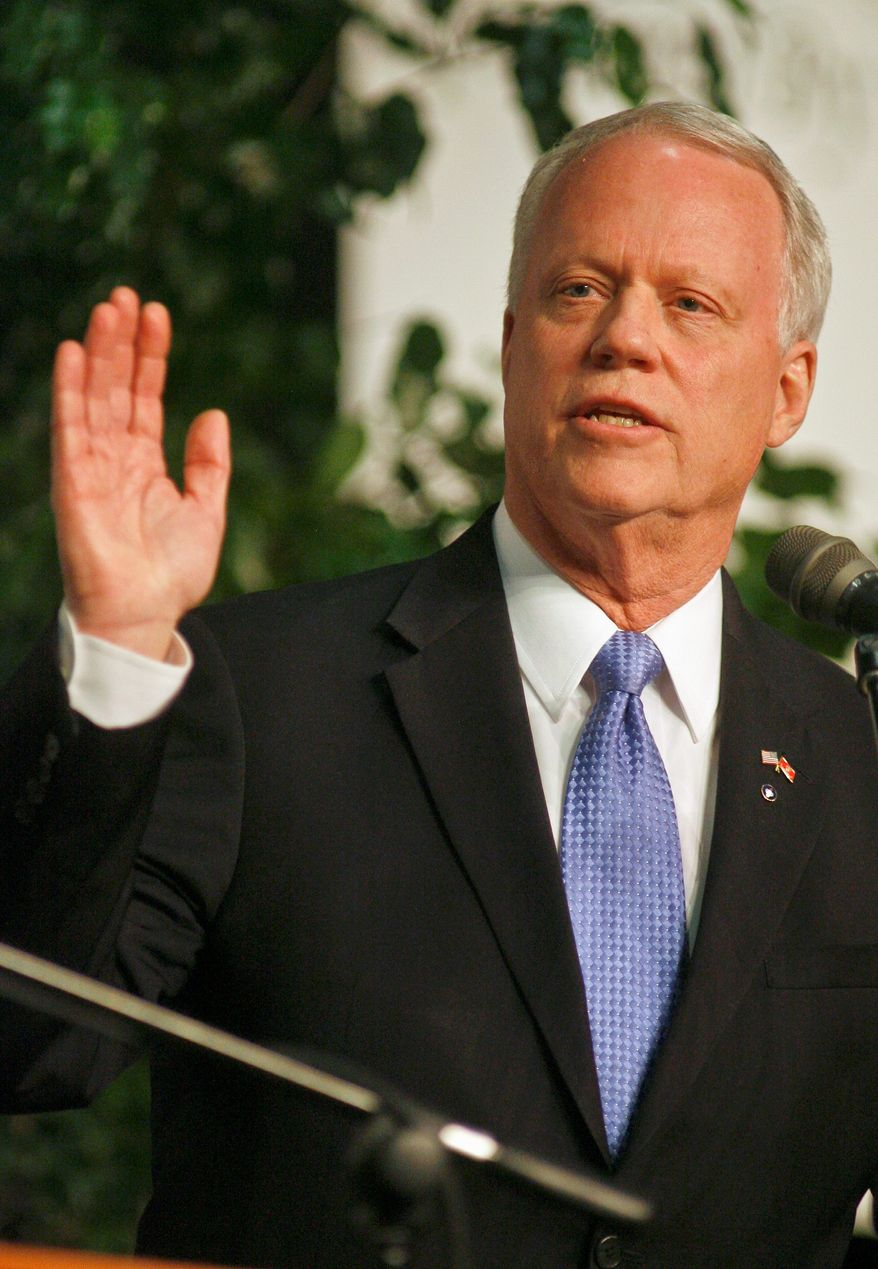 Rep. Paul C. Broun says he stands by Georgia Right to life during his Republican primary campaign to succeed Sen. Saxby Chambliss. (Associated Press)