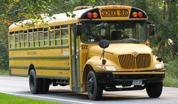 A South Texas school bus driver was back to her regular route Monday morning after being caught on video bullying a little girl for crying and encouraging others to join in. (Wikipedia)