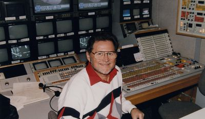 """This Dec. 3, 1993 photo provided by CBS Sports shows Sandy Grossman, who directed a record 10 Super Bowl broadcasts and spent more than two decades in the TV truck working with announcers Pat Summerall and John Madden. Grossman died Wednesday, April 2, 2014, at his home in Boca Raton, Fla. He was 78. """"His amazing directorial talents on the NFL truly distinguished him as one of the great directors in the history of sports television,"""" CBS Sports Chairman Sean McManus said. (AP Photo/CBS Sports, Roman Iwasiwka) MANDATORY CREDIT; NO SALES; NO ARCHIVE; NORTH AMERICAN USE ONLY"""