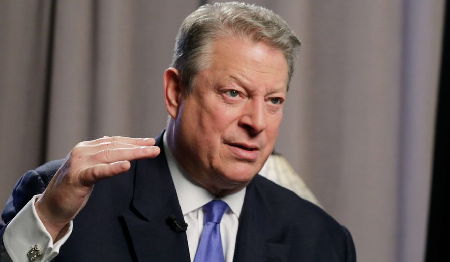"""**FILE** Former U.S. Vice President Al Gore is releasing a sequel to """"An Inconvenient Truth,"""" his 2006 Academy Award-winning documentary on climate change. (Associated Press)"""