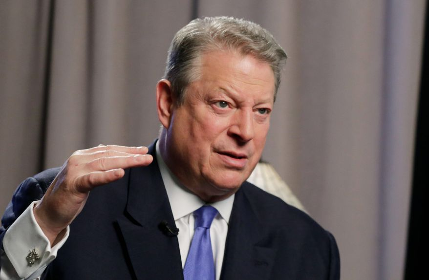 "**FILE** Former U.S. Vice President Al Gore is releasing a sequel to ""An Inconvenient Truth,"" his 2006 Academy Award-winning documentary on climate change. (Associated Press)"