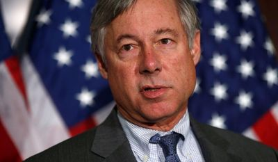 Rep. Fred Upton, House Energy and Commerce Committee chairman, says the Energy Department has been upstaged by the EPA on energy policy. (Associated Press)