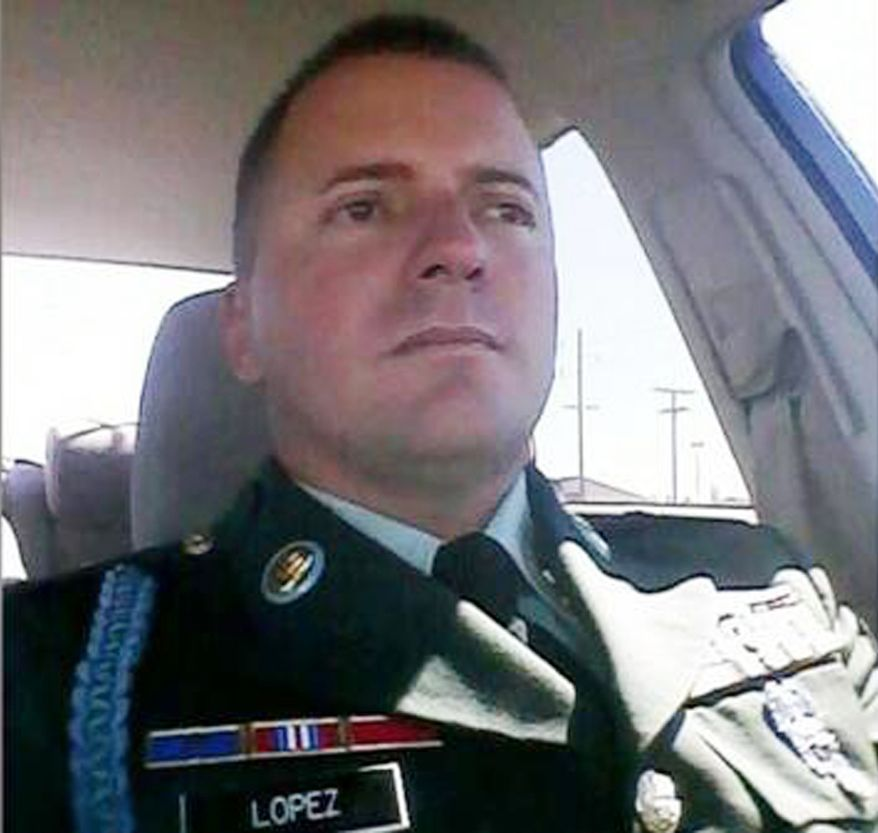 Suspected Fort Hood shooter Ivan Lopez.