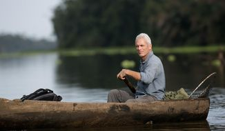 """This image released by Animal Planet shows Jeremy Wade, host of """"River Monsters."""" The sixth season premieres Sunday, April 6, at 9 p.m. EDT on Animal Planet. (AP Photo/Animal Planet, Tito Herrera)"""