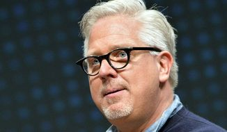 Radio and television personality Glenn Beck speaks to a gathering at FreePAC Kentucky, Saturday, April 5, 2014, at the Kentucky International Convention Center in Louisville, Ky. (AP Photo/Timothy D. Easley) ** FILE **