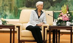 IMF Managing Director Christine Lagarde continues to insist that there is little she can do without U.S. approval. Analysts point out that European countries, which continue to dominate the IMF's board of directors and stand to lose the most clout under the reforms, have been happy to let the U.S. block the legislation even while publicly deploring the congressional delays. (Associated Press)